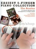Easiest 5 Finger Piano Collection Beatles