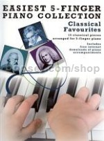 Easiest 5 Finger Piano Collection Classical Favour