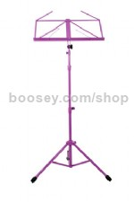 Music Stand Pink With Carry Bag