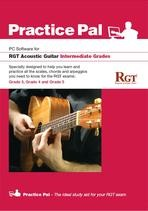 RGT PRACTICE PAL ACOUSTIC GUITAR SOFTWARE: INTERMEDIATE GRADES