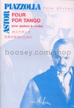 Four For Tango Score/parts Str Quartet