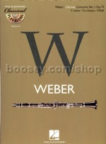 Classical Play-Along Series vol.14: Weber Clarinet Concerto No.1