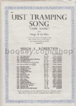 Uist Tramping Song (Come Along) for voice & piano