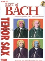 Best Of: Bach (tenor sax) (Book & CD)