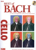 Best Of: Bach (cello) (Book & CD)
