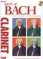Best Of: Bach (clarinet) (Book & CD)