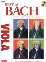 Best Of: Bach (viola) (Book & CD)