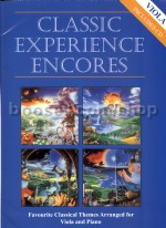 Classic Experience Encores For Viola (Bk & CD)