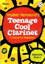 Teenage Cool Clarinet - repertoire book (Bk & CD)