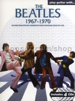 Play Guitar With The Beatles 1967-1970 (Bk & CDs)