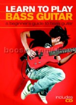 Learn To Play Bass Guitar (Bk & CD)