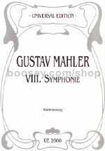 Symphony No. 8 in Eb major (vocal score)
