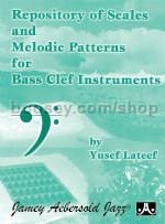 Repository Of Scales & Melodic Patterns (bass clef)