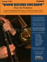 Know Before You Blow Blues - for Trombone (Bk & CD)