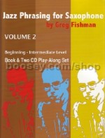 Jazz Phrasing For Saxophone vol.2 (Bk & CD)