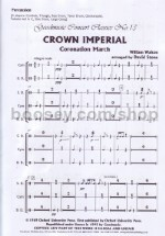 Crown Imperial Percussion Parts