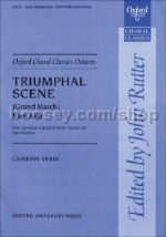 Triumphal Scene (Grand March) from Aida (Vocal score) SATB & piano/orchestra