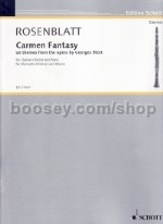 Carmen Fantasy for clarinet/violin & piano