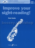 Improve Your Sight Reading Violin Grade 1 New