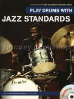Play Drums With... Jazz Standards (BK & CD)