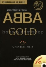 Strumalong Ukulele: Abba Gold Selections (BK & CD)