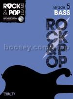 Rock & Pop Exams: Bass - Grade 5 (Book & CD)