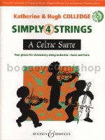 Simply 4 Strings: A Celtic Suite (Score & Cd-Rom)