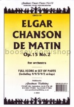 Chanson De Matin - Score & Parts pack