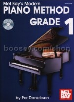 Modern Piano Method - Grade 1 (Bk & CD)