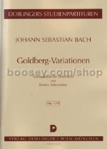 Goldberg Variations for string trio (study score)