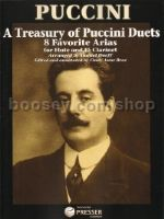 A Treasury Of Puccini (duets for flute & clarinet)