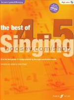 The Best Of Singing Grades 4-5 High Voice (Book & CD)