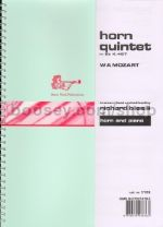 Horn Quintet in Eb, K. 407, for Eb Horn and Piano, trans. Bissill