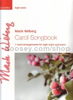Carol Song Book (high voice) vocal score