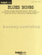 Budget Books - Blues Songs (PVG)