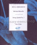 String Quartet No.3: In Gloucestershire (Set of Parts)