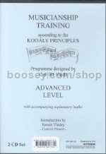 Musicianship Training according to the Kodály principles - Advanced Level (2 CDs)