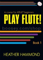 Play Flute (Book & CD) for Adult Beginners