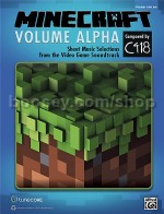 Minecraft - Volume Alpha for piano