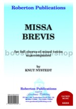 Missa Brevis - SATB choir