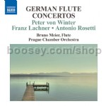 German Flute Concertos (Naxos Audio CD)