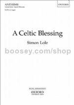 A Celtic Blessing (vocal score)