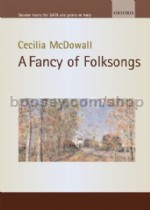 A Fancy Of Folksongs SATB & piano/harp
