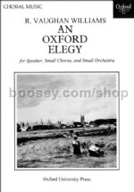 Oxford Elegy (vocal score)