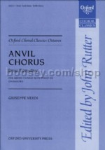 Anvil Chorus (from Il trovatore) (vocal score)
