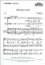 Nativity Carol (SATB vocal score)