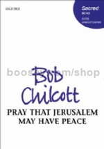 Pray that Jerusalem may have peace (vocal score)