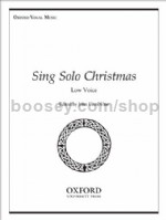 Sing Solo Christmas (Low Voice)