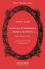 Come, all ye shepherds (Kommet, ihr Hirten) (SATB vocal score)