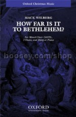 How Far Is It To Bethlehem ? SATB